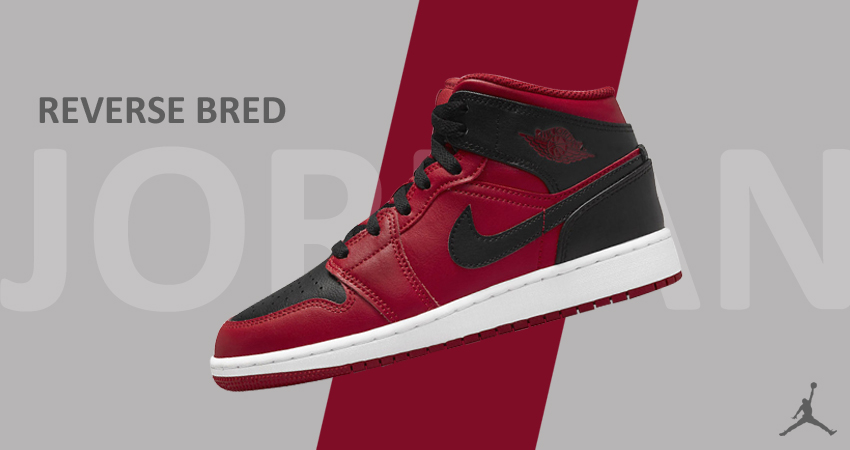 Nike Unveild the Amazing Air Jordan 1 Mid Reverse Bred featured images