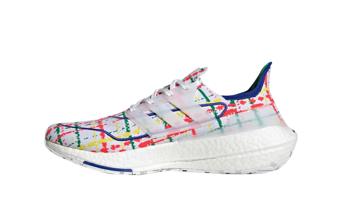 Palace adidas Ultra Boost 2021 Multi White GY5556 featured image