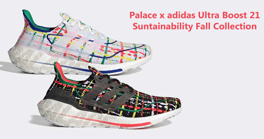 Palace x adidas Ultra Boost 21 Suntainability Fall Collection featured image