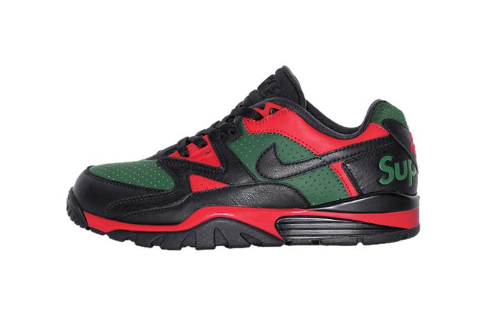 Supreme Nike Air Cross Low Black Green CJ5291-001 featured image