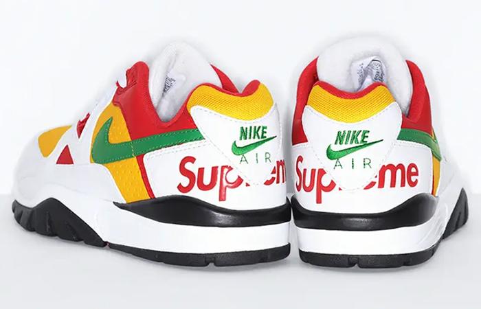 Supreme Nike Cross Trainer Low Multi White back