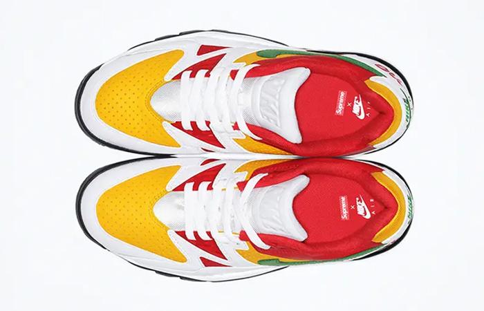 Supreme Nike Cross Trainer Low Multi White up