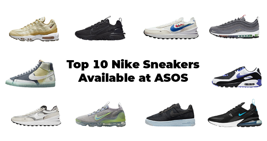 Top 10 Nike Sneakers Available at ASOS featured image