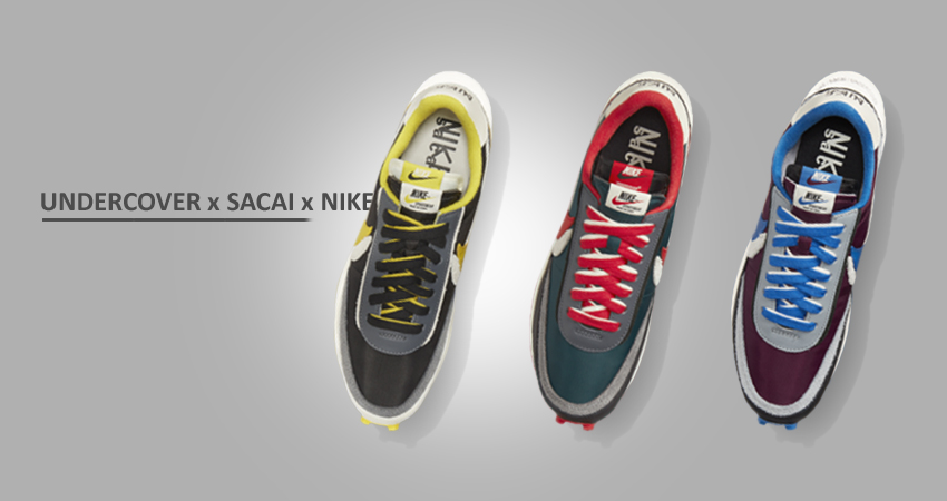 UNDERCOVER x sacai x Nike LDWaffle Collection Releasing in October