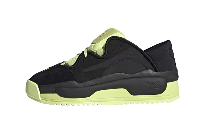 adidas Y 3 Hokori II Black Yellow GZ9145 featured image
