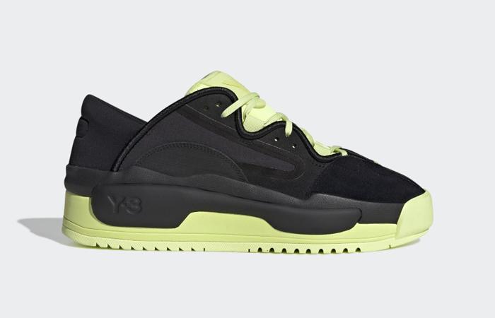 adidas Y 3 Hokori II Black Yellow GZ9145 right